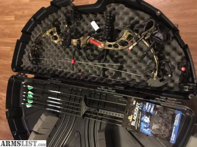 For Sale: PSE brute force bow like new w/trophy ridge sight
