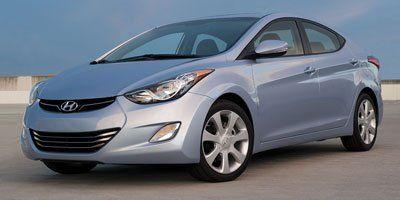 2012 Hyundai Elantra GLS (Shimmering Silver Metallic)