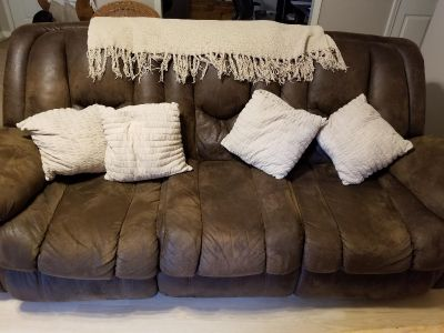 Free couch, pillows not included