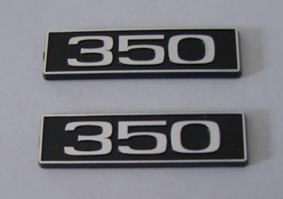 Purchase 350 emblems New Pair emblem motorcycle in Dade City, Florida, US, for US $19.99
