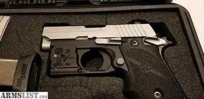 For Sale: Sig P238 Viridian R5 Laser & Hogue Grip (New)