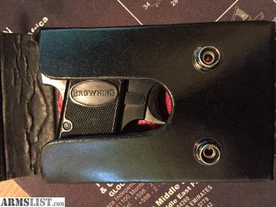 For Sale: Baby Browning Holster