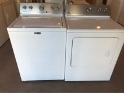 Maytag washer and dryers electric