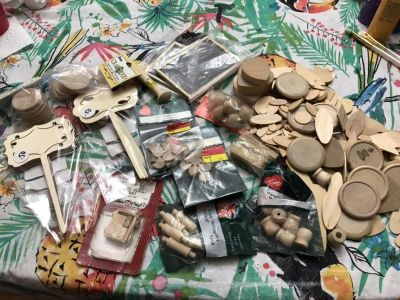 Lot of Wood Crafting