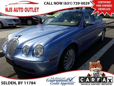 2006 Jaguar S-Type 4.2 (Blue)