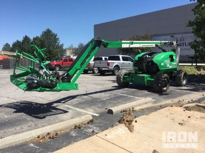 2019 (unverified) JLG 600AJ 4WD Diesel Articulating Boom Lift
