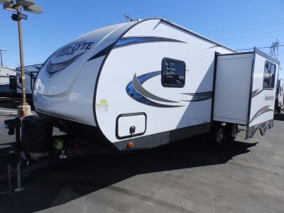 2019 Forest River SALEM HEMISPHERE 24RKHL, 1 SLIDE, REAR KITCHEN, POWER AWNING, POWER STABILIZER JACKS, ENCLOSED/HEATED UNDERBELLY