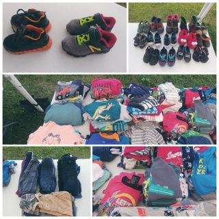 12-24 Month Toddler Boy Clothes/Pjs/Shoes All seasons