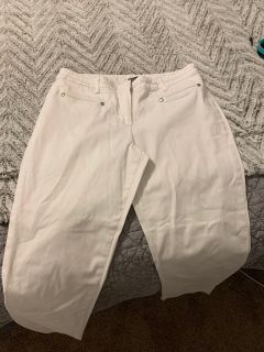 White New Direction pants size 8