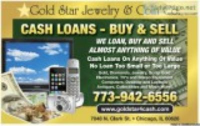 We Loan Cash for Gold Watches
