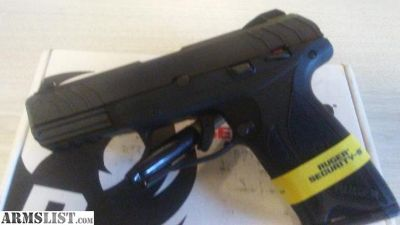 For Sale: RUGER SECURITY 9 NIB