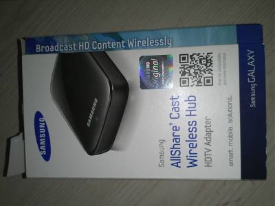 Allshare Cast Wireless Hub- show whats on ur phone on ur TV wirelessly