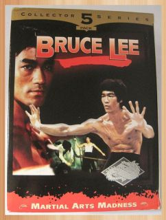 5 Bruce Lee VHS Movies New Martial Arts Movies
