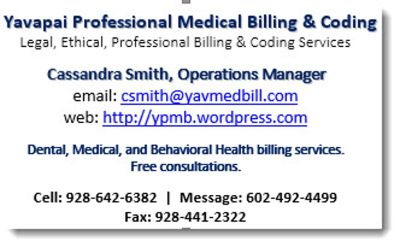 Yavapai Professional Medical Billing & Coding