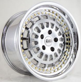 Find 17X9 ESM 015 Rims 5X114.3mm +20 Chrome Wheels Aggressive Fits Tc Xb Rx8 Speed 3 motorcycle in Hayward, California, United States, for US $919.00