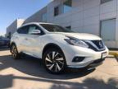 Used 2018 Nissan Murano Pearl White, 16.6K miles