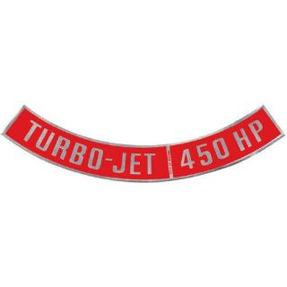 Sell Performance Trends AC00909 Turbo-Jet 390 HP Air Cleaner Decal 1964-1977 Chevy Ch motorcycle in Delaware, Ohio, United States, for US $7.99