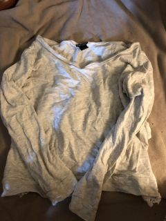 Long sleeve top - large - wet seal - porch pick up