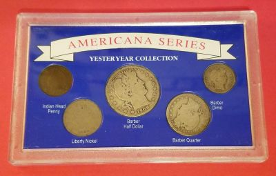 Americana Series Yesteryear Collection Barber Half Dollars/Quarter.....
