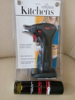 NEW in Package Fox Run Creme Brulee Torch with Fuel Refill