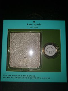 Kate Spade Sticker Pocket and Ring Stand