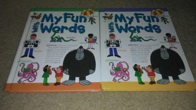 My Fun With Words Dictionary Set