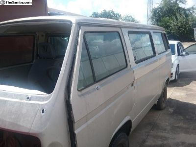 1990 Vanagon Rust Free Drivers Door
