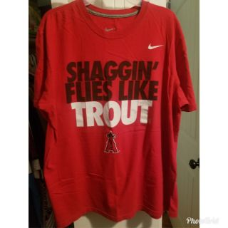 Mike Trout/ Anaheim Angel's Shirt