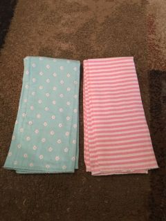 2 burp rags - ppu (near old chemstrand & 29) or PU @ the Marcus Pointe Thrift Store (on W st)