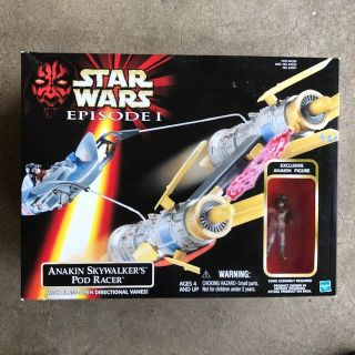 Star Wars Action figures 3.75 Anakin's Pod Racer (Sealed)