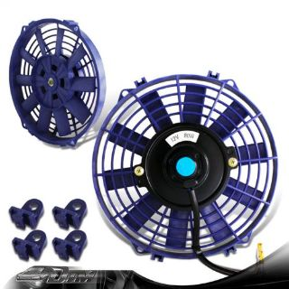 "Buy Universal Blue 9"" 1500CFM 2250RPM Electric Cooling Slim Engine Bay Radiator Fan motorcycle in Rowland Heights, California, United States"