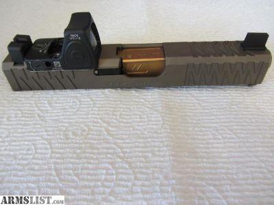 For Sale: Glock 19 ZEV slide