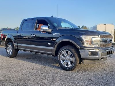 2019 Ford F-150 KING RANCH 4WD SUPERCREW 5.5' (AGATE BLACK)
