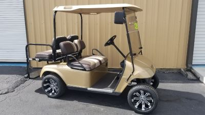 2011 Ezgo 48V FOUR PASSENGER CUSTOM WHEELS TIRES HIGH SPEED MOTOR