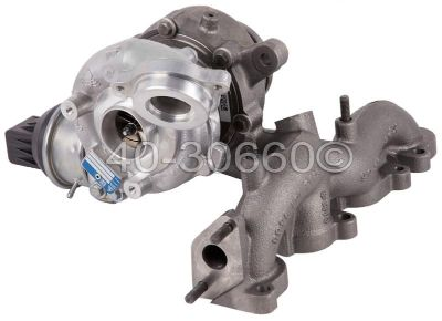 Buy NEW Audi A3 Volkswagen VW Golf Jetta 2.0L TDI Turbo Turbocharger OEM BorgWarner motorcycle in San Diego, California, US, for US $899.95