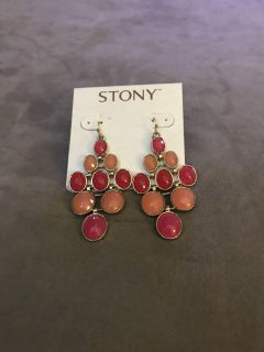 Statement earrings from dillards NWT