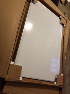 4x6 Dry Erase Board with tray