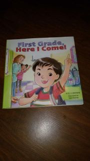 $3 new first grade here I come hard cover