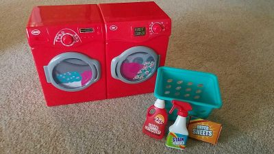 Doll washer and dryer set