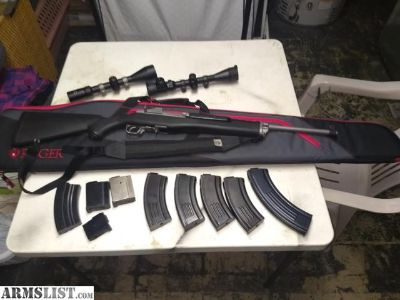 For Sale/Trade: Ruger Mini 30 package