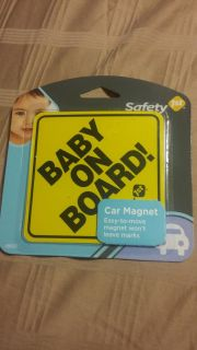 Car magnet. Safety on the road. Easy to move, and won't leave marks.