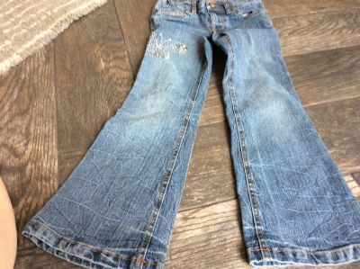 Size 6 flare leg jeans