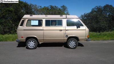 1985 Vanagon GL Westfalia with 1.9L turb Diesel