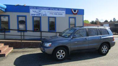 2004 Toyota Highlander Base (Blue)