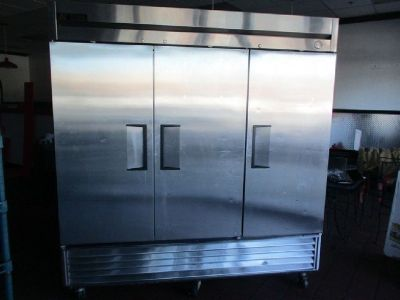 True T-72 Three Door Reach in Refrigerator RTR# 8123855-01