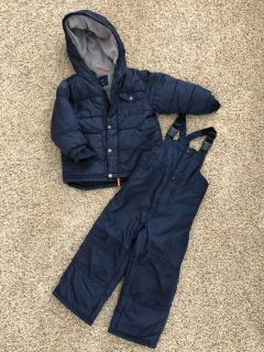 3T winter jacket and snow pants