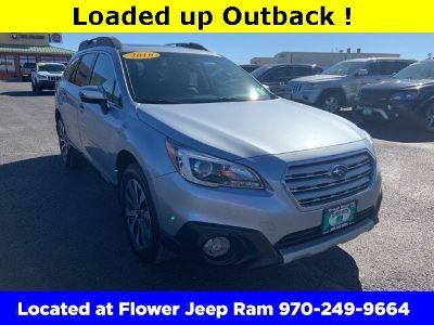 2016 Subaru Outback 2.5i (Ice Silver Metallic)