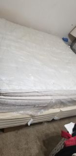 Stearns and Foster king size bed mattress only