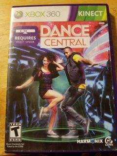 Xbox 360 kinect dance central