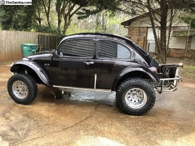 Vw Baja Bug 2.3L motor street legal with title!